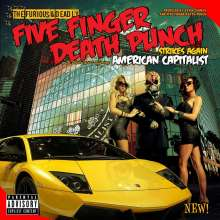Five Finger Death Punch: American Capitalist (Deluxe Edition) (Explicit), CD