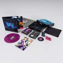 Muse: Simulation Theory Deluxe Film Box Set (Limited Edition) (Pink/Blue Marbled Vinyl), 1 LP, 1 Blu-ray Audio und 1 MC