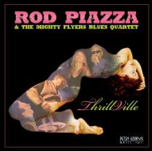 Rod Piazza: Thrillville, CD