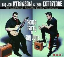 Big Jon Atkinson & Bob Corritore: House Party At Big Jon's, CD