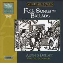 Alfred Deller Edition Vol.1 - Folksongs and Ballads, 7 CDs