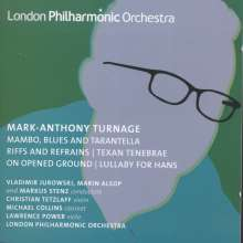 "Mark-Anthony Turnage (geb. 1960): Violakonzert ""On Opened Ground"", CD"