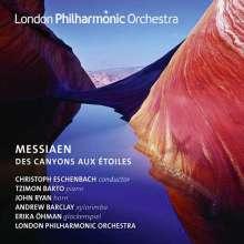 Olivier Messiaen (1908-1992): Des Canyons aux Etoiles...für Klavier & Orchester, 2 CDs