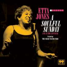 Etta Jones (1928-2001): A Soulful Sunday: Live At The Left Bank (180g) (Limited-Handnumbered-Edition) (remastered), LP