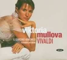 Antonio Vivaldi (1678-1741): Violinkonzerte RV 187,208,234,277, CD