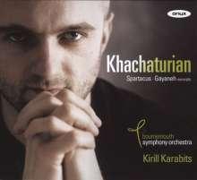 Aram Khachaturian (1903-1978): Spartacus (Ausz.), CD