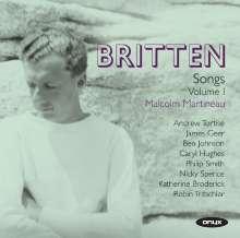 Benjamin Britten (1913-1976): Songs Vol.1, 2 CDs