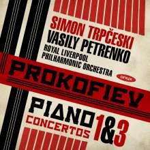 Serge Prokofieff (1891-1953): Klavierkonzerte Nr.1 & 3, CD