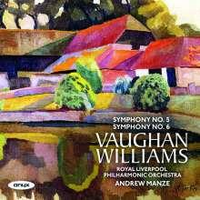 Ralph Vaughan Williams (1872-1958): Symphonien Nr.5 & 6, CD