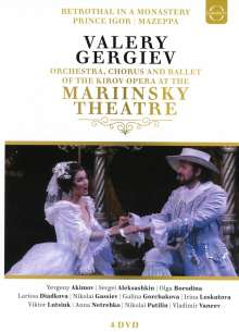 Russian Opera at Mariinksy Theatre (Kirov Opera), 4 DVDs