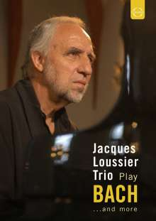 Jacques Loussier (1934-2019): Play Bach..And More-Live From St.Thomas's Church,Leipzig '04, DVD