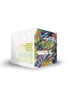 Die Silvesterkonzerte der Berliner Philharmoniker (ausgewählte Konzerte aus den Jahren 1977-2015), 20 DVDs