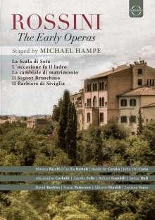 Gioacchino Rossini (1792-1868): Die frühen Opern, 5 DVDs