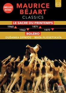 Maurice Bejart Classics, DVD