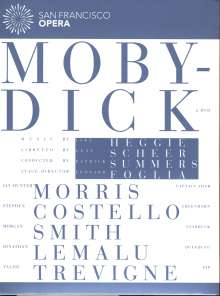 Jake Heggie (geb. 1961): Moby Dick, 2 DVDs