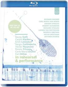 In Rehearsal and Performance, Blu-ray Disc