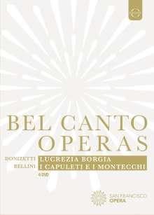 Joyce DiDonato - Belcanto Operas, 4 DVDs