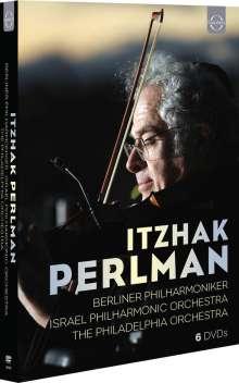 Itzhak Perlman - DVD Edition zum 75.Geburtstag, 6 DVDs