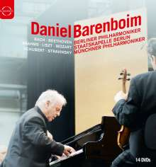 Daniel Barenboim (DVD-Edition), 14 DVDs