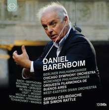 Daniel Barenboim (DVD-Edition Vol.2), 13 DVDs
