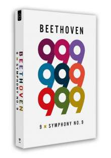 Ludwig van Beethoven (1770-1827): Symphonie Nr.9 (9 Einspielungen), 9 DVDs