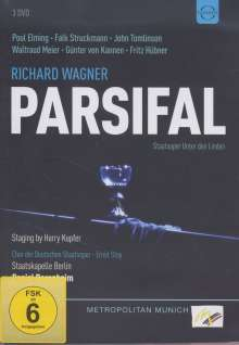 Richard Wagner (1813-1883): Parsifal, 3 DVDs
