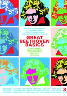 Ludwig van Beethoven (1770-1827): Great Beethoven Basics (DVD-Edition), 8 DVDs