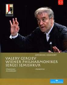 Salzburger Festspiele 2012 - Eröffnungskonzert, Blu-ray Disc