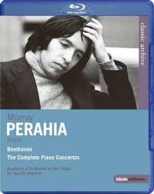 Murray Perahia  - Beethoven: The Complete Piano Concertos, Blu-ray Disc