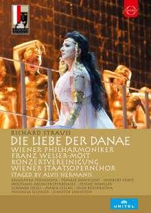 Richard Strauss (1864-1949): Die Liebe der Danae, 2 DVDs