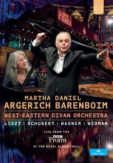 Martha Argerich & Daniel Barenboim - Live from the BBC Proms 2016, DVD
