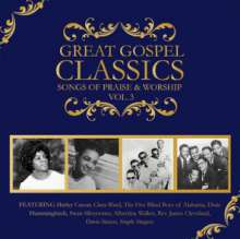 Great Gospel Classics: Songs Of Praise & Worship 3, CD