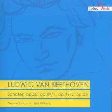 Ludwig van Beethoven (1770-1827): Klaviersonaten Nr.12,15,19,20, CD