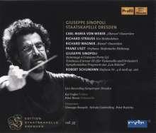 Giuseppe Sinopoli dirigiert die Staatskapelle Dresden, 2 CDs