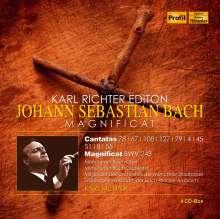 Karl Richter Edition - Johann Sebastian Bach, 4 CDs