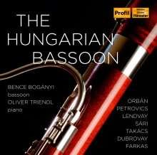 """Musik für Fagott & Klavier """"The Hungarian Bassoon"""", CD"""