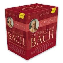 Carl Philipp Emanuel Bach (1714-1788): Carl Philipp Emanuel Bach Edition, 54 CDs
