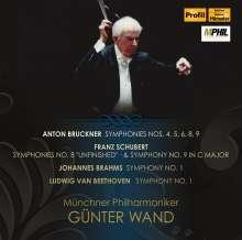 Günter Wand dirigiert die Münchner Philharmoniker, 8 CDs