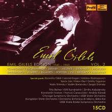 Emil Gilels Edition Vol.2 - 1940-1963, 15 CDs