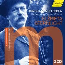 Arnold Mendelssohn (1855-1933): Sämtliche Klavierwerke, 2 CDs
