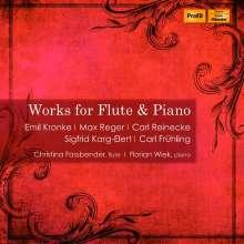 Christina Fassbender & Florian Wiek - Werke für Flöte & Klavier, CD