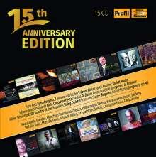 Profil Edition Günter Hänssler - 15th Anniversary Edition, 15 CDs