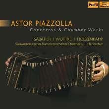"""Astor Piazzolla (1921-1992): Konzert für Bandoneon,Gitarre & Streicher """"Hommage a Liège"""", CD"""
