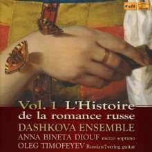 Anna Bineta Diouf & Oleg Timofeyev - L'Histoire de la romance russe Vol.1, CD