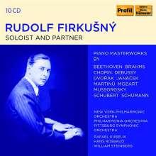 Rudolf Firkusny - Soloist and Partner, 10 CDs