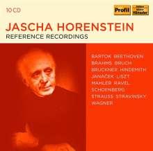 Jascha Horenstein - Reference Recordings, 10 CDs