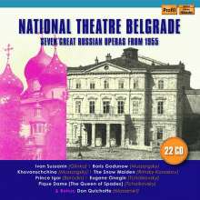 National Theatre Belgrade - 7 Great Russian Operas from 1955, 22 CDs