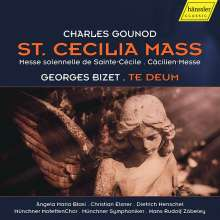 """Charles Gounod (1818-1893): Messe G-Dur op.12 """"Cäcilienmesse"""", CD"""