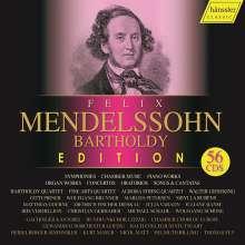Felix Mendelssohn Bartholdy (1809-1847): Felix Mendelssohn Bartholdy Edition 2019 (Hänssler Classic), 56 CDs