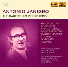 Antonio Janigro - The Rare Cello Recordings, 4 CDs